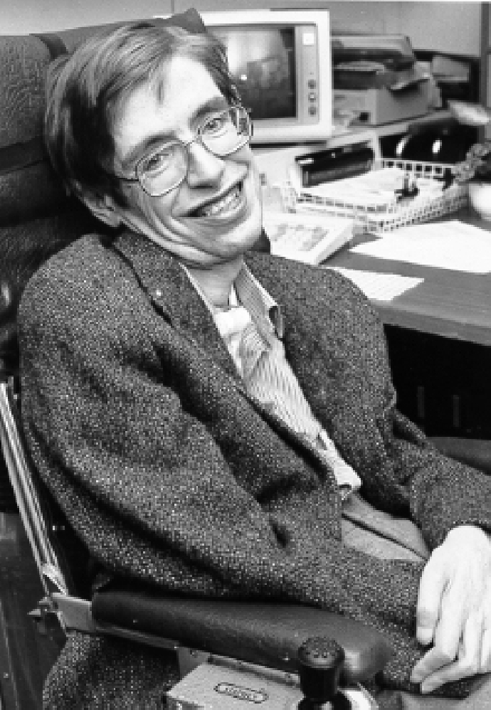 巨人離座!物理學巨擘史蒂芬‧霍金於2018年3月14日逝世