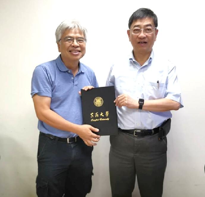 本系禮聘中央研究院院士 李定國教授為榮譽講座教授